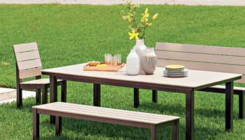 TELESCOPE CHANDLER OUTDOOR DINING SET