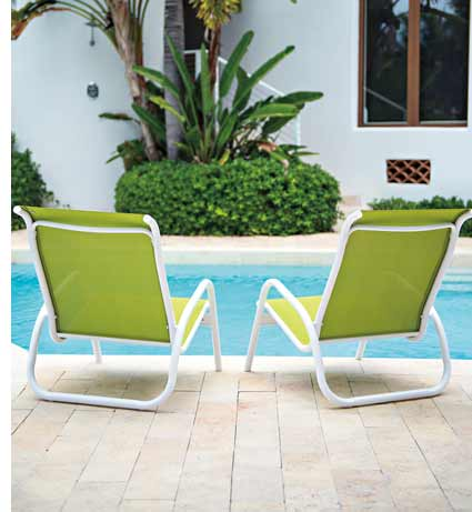 Telescope Gardenella Green Patio Chairs