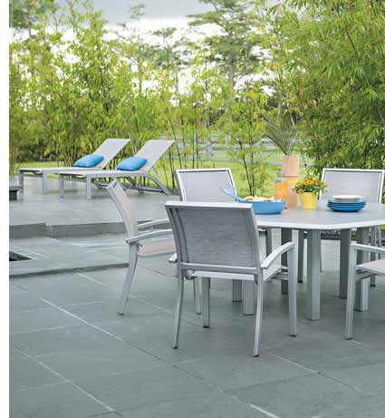 Telescope Kendall Sling Patio Dining & Loungers
