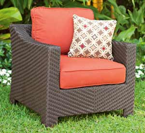 Telescope Lake Shore Wicker Patio Chair