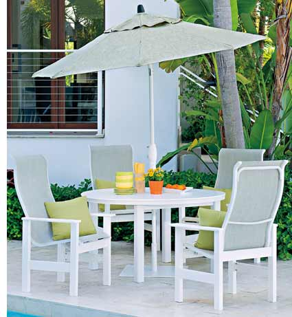 Telescope Leeward Polymer Patio Set