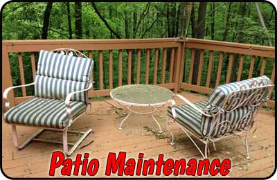 Patio Furniture Maintenance