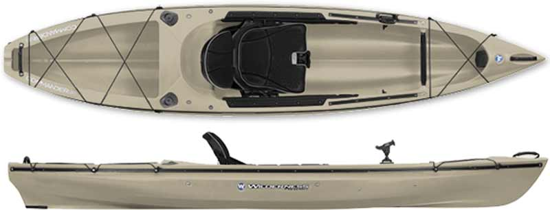Wilderness Commander 120 Angler Kayak