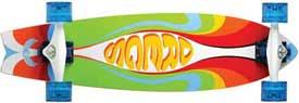 Dreg's 30 Ecopoxy Fiberfish Skateboard