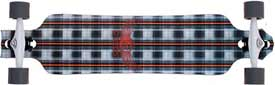 Dreg's 38 Slide 102 Plaid Skateboard