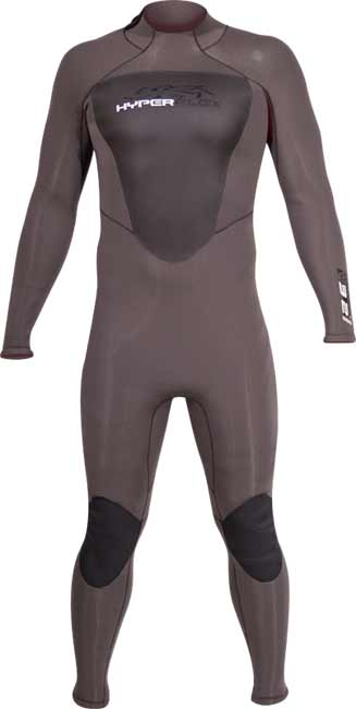 Hyperflex Cyclone2 Back Zip Full Wet Suit Mens