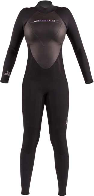 Hyperflex Cyclone2 Back Zip Full Wet Suit Womens
