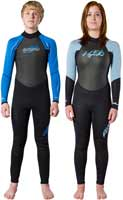 Junior's Axs Back Zip Wet Suit Boys & Girls