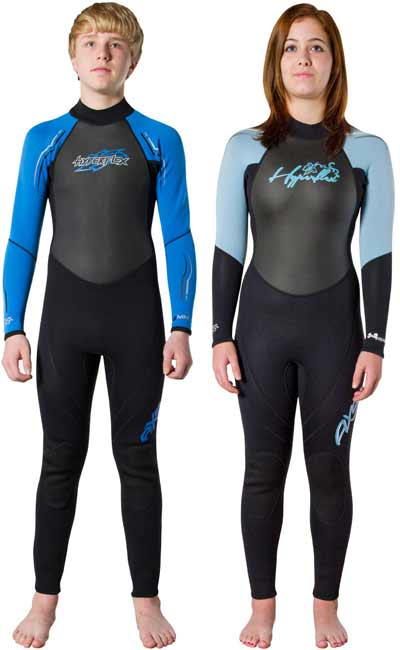 Hyperflex Junior's Axs Back Zip Wet Suit Boys & Girls