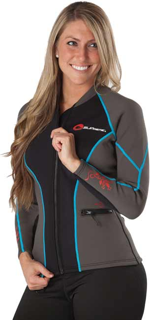 Supreme Catch 1.5MM Women's Wet Suit Jacket