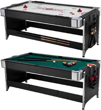 3-in-1 Flip Game Table