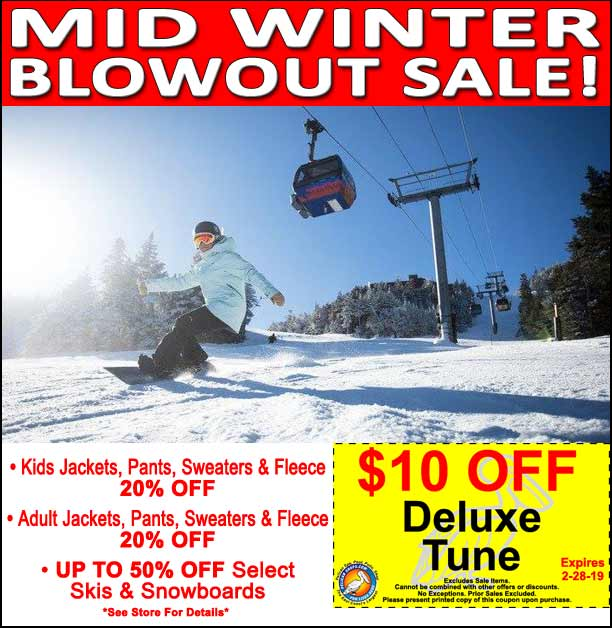 Mid Winter BlowOut Sale!
