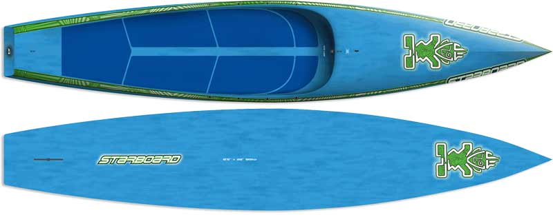 "Starboard All Star 12'6"" Glass SUP Board"