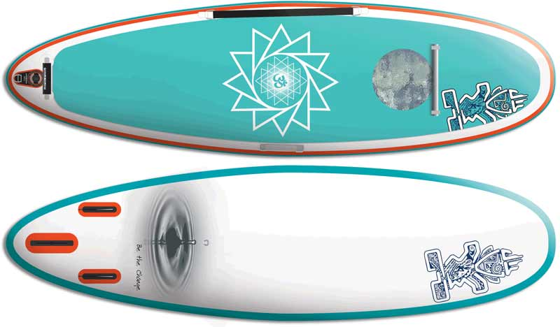 Starboard Astro Yoga 35 10' Inflatable SUP Board