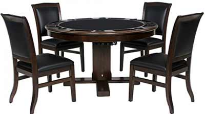 Heritage 2 in 1 Poker Table