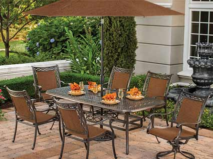 Agio Ashmost Patio Dining Set