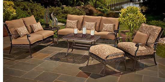 Agio Ashmost Patio Conversation Set