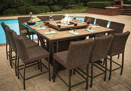 Agio Franklin Patio Dining Set