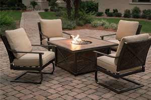 Agio Franklin Patio Fire Pit