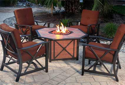 Agio Haywood Patio Furniture Set