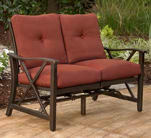 Agio Haywood Patio Loveseat