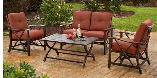Agio Haywood Patio Conversational Set