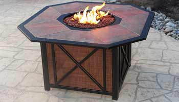 Agio Haywood Patio Fire Pit