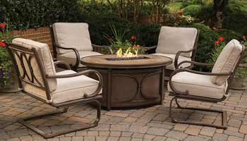 Agio Kendall Patio Fire Pit