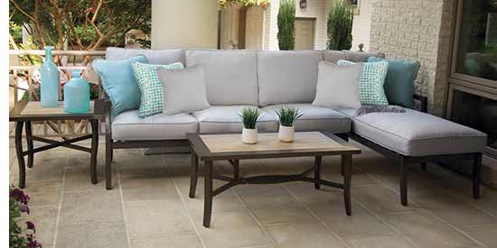 Agio Kendall Round Patio Dining Furniture