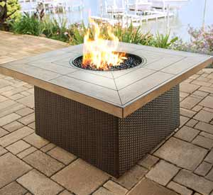 Agio Newport Beach Patio Fire Pit