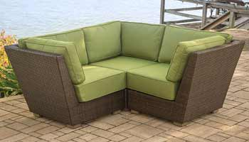 Agio Newport Beach Patio Loveseat