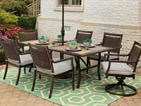 Agio Maddox Outdoor Patio Set
