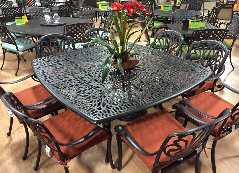Patio Sets By Atlas Cadence Dining Patio Set Pelican