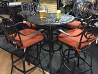 Atlas Cadence Hi Dining Patio Set