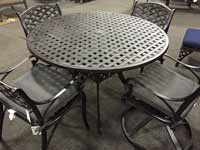 Atlas Trellis Grande Patio Set