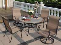 Hanamin Valbonne Patio Furniture Set for Sale