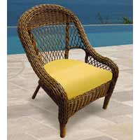 North Cape Berkshire Wicker Chair
