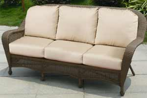 North Cape Winward Wicker Couch