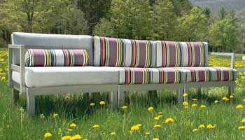 Telescope Ashbee Cushion Patio Couch