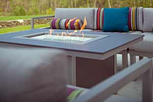 Telescope Ashbee Cushion Patio Fire Pit