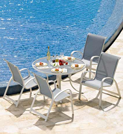 Telescope Primera Sling Patio & Pool Furniture
