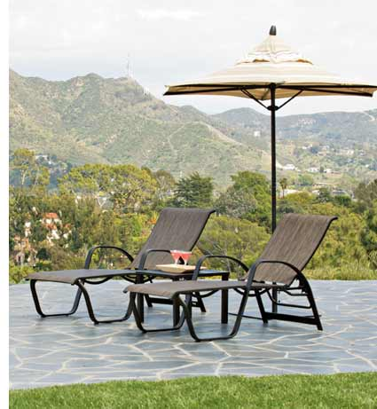 Telescope Primera Sling Patio Lounger