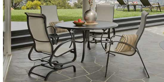 Telescope Primera Sling Patio Dining Set