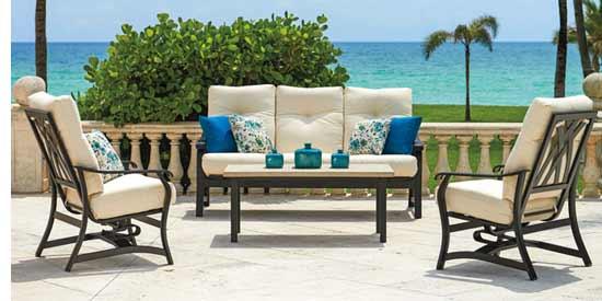 Telescope Villa Cushion Patio Chairs & Sofa