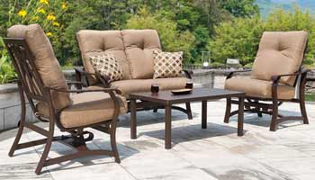 Telescope Villa Cushion Patio Chairs & Sofa