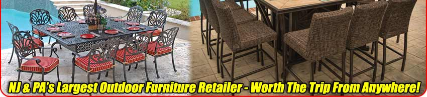NJ & PA Largest Outdoor Furniture Retail Store