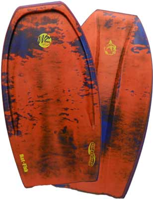 "Wave Skater Pro Rat Fish 42 3/4"" Body Board"