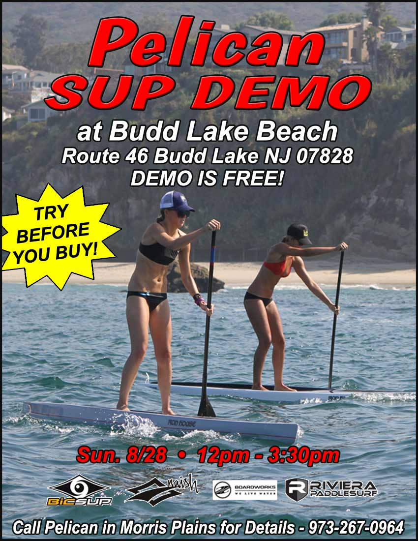 2016 SUP Demo Days at Pelican Shops on Budd Lake