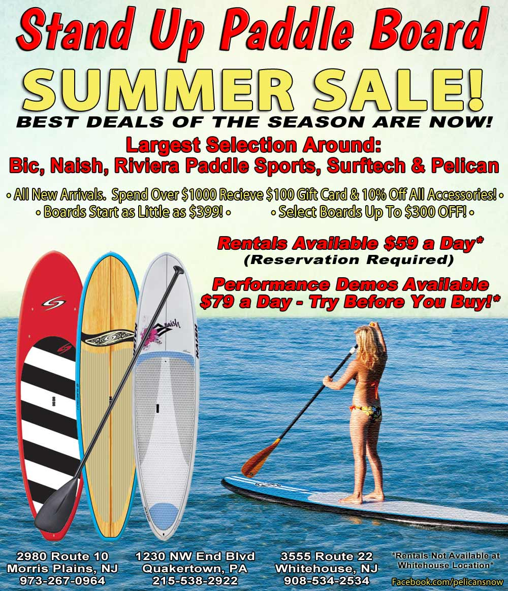 SUP Board, Stand Up Paddle Board Pre Summer Sale on the largest selection of SUP boards