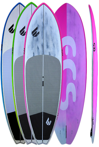 "ECS Wide Boy 9'5"" x 32"" SUP Board, Pelican Stand Up Paddle Board Shops"